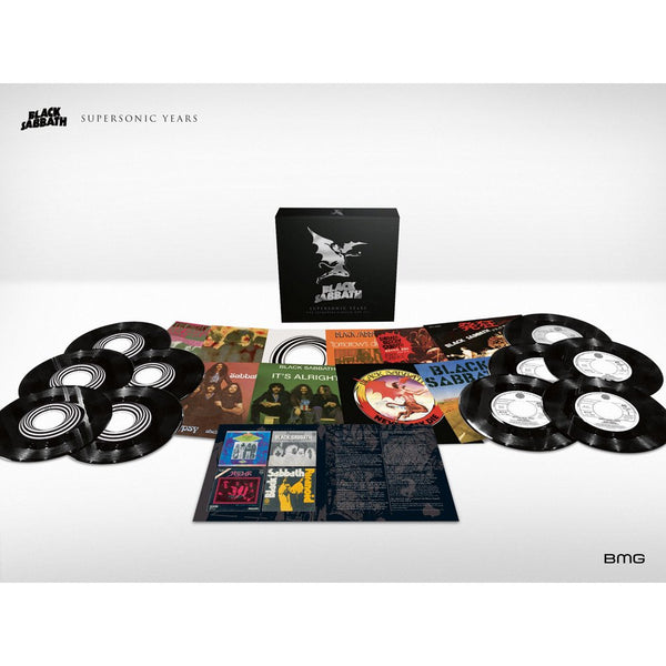 NEW - Black Sabbath, Supersonic Years 70's Singles Box Set