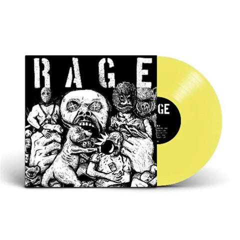 NEW - Rage, Rage Limited Edition Yellow Vinyl