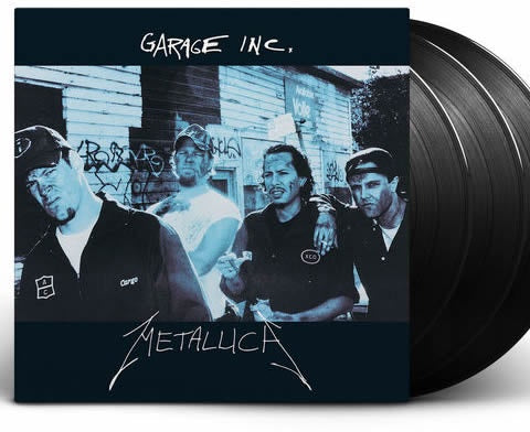 NEW - Metallica, Garage Inc 3LP