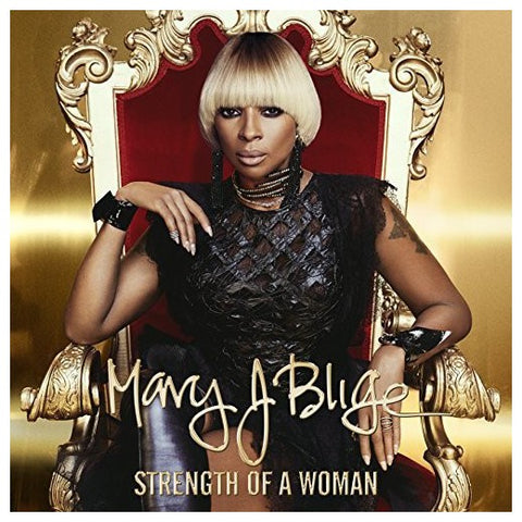 NEW (Euro) - Mary J Blige, Strength of a Woman