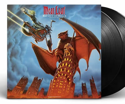 NEW - Meatloaf, Bat out of Hell II: Back into Hell 2LP