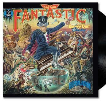 NEW - Elton John, Captain Fantastic & The Brown Dirt Cowboy LP