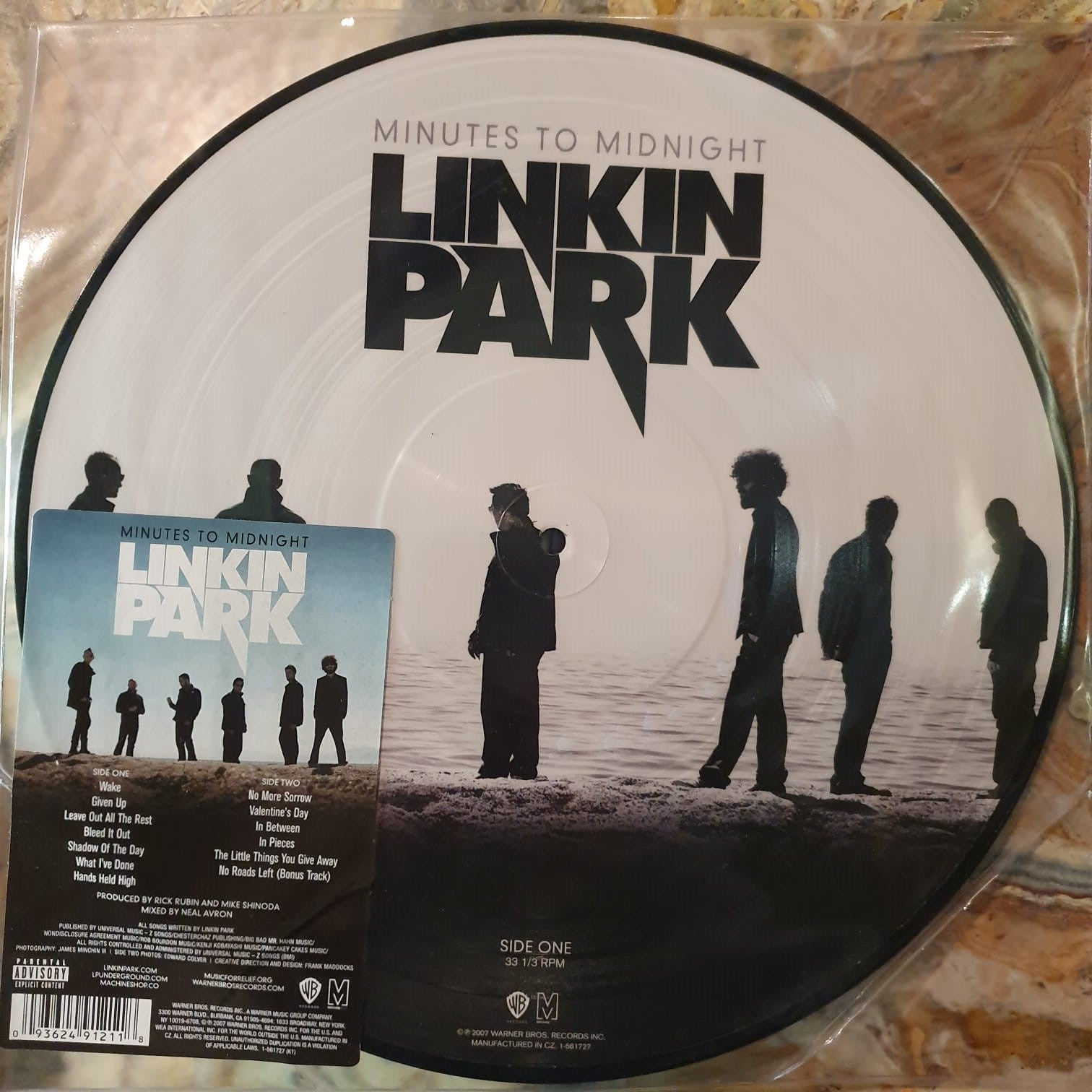 NEW - Linkin Park, MINUTES TO MIDNIGHT (PICTURE DISC)