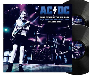 NEW - AC/DC, Shot Down in The Big Easy Vol.2 Ltd Black 2LP NOTE: DUE 15th Jan 2021