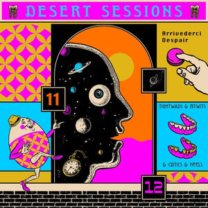 NEW - Queens of the Stone Age, Desert Sessions Vol 11 & 12 LP