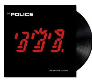*NEW - Police (The), Ghost in the Machine LP