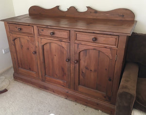 Solid Timber Buffet / Side Board