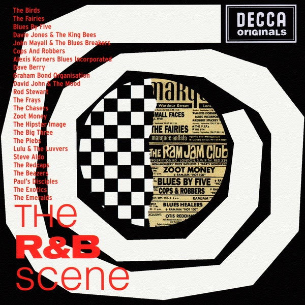 NEW - R and B Scene (The), Various Artists 2LP