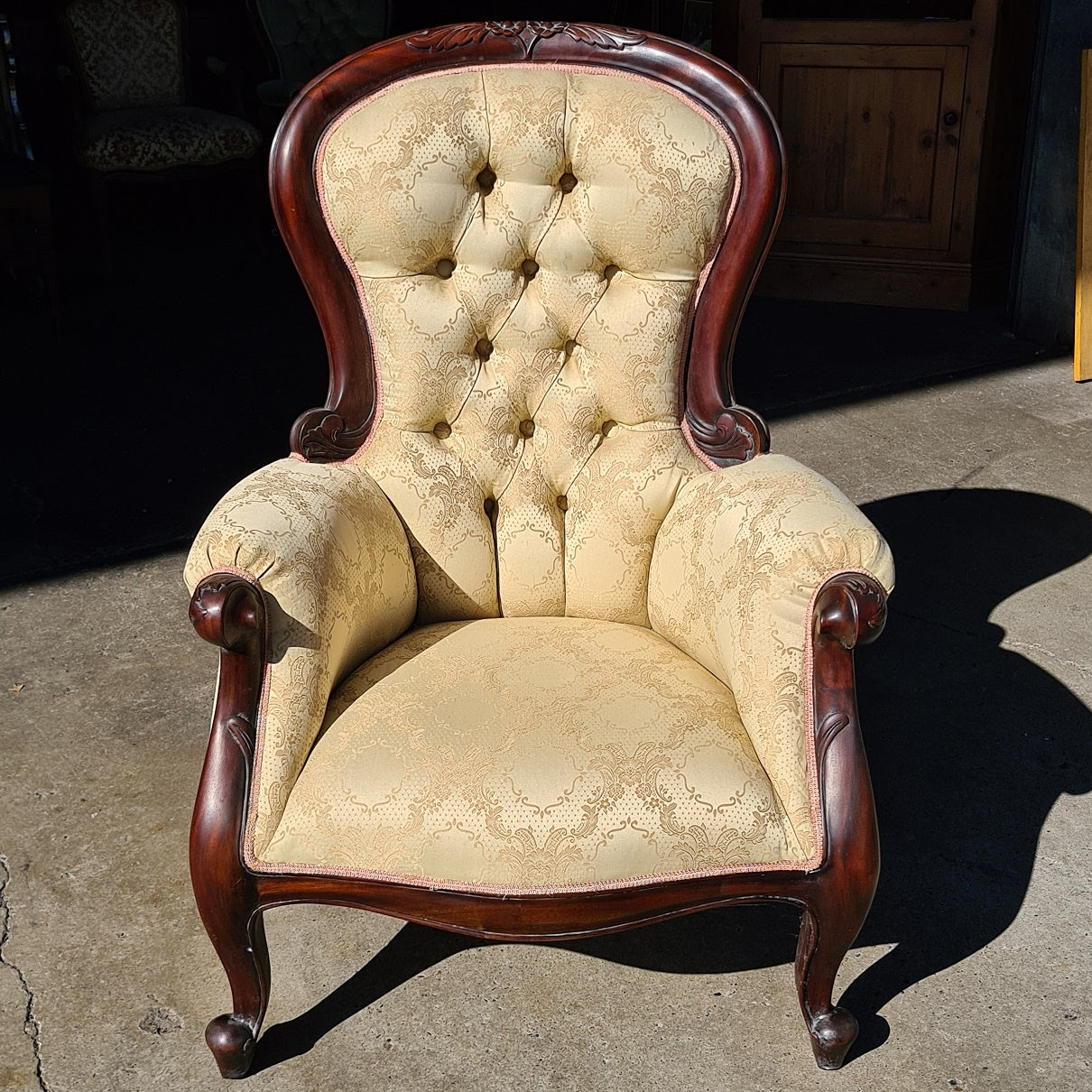 Antique Parlour Chair #2