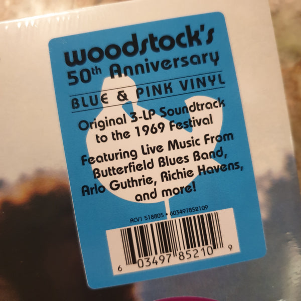 NEW - Soundtrack, Woodstock Various Artists 3 LP