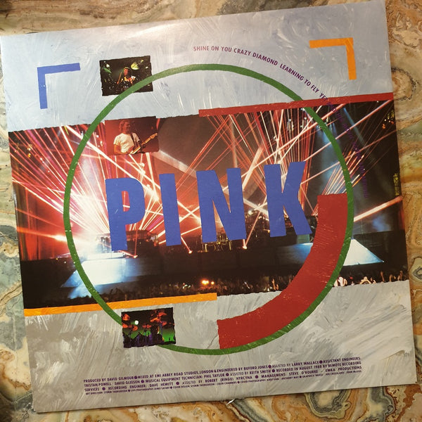 Pink Floyd, Delicate Sound of Thunder (Live) 2LP 1988 (2nd Hand)