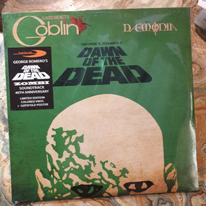 NEW - Soundtrack, Dawn of the Dead 40th Anniversary LP
