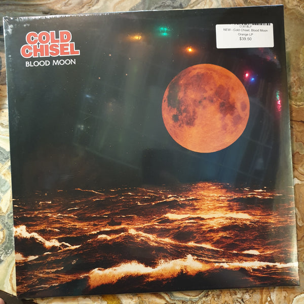 NEW - Cold Chisel, Blood Moon Orange LP