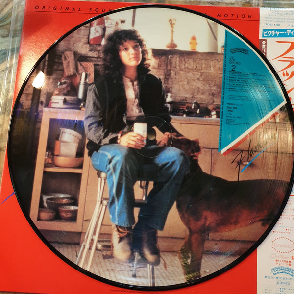 Soundtrack, Flashdance Picture Disc  with Booklet (Japan) LP (2nd Hand)