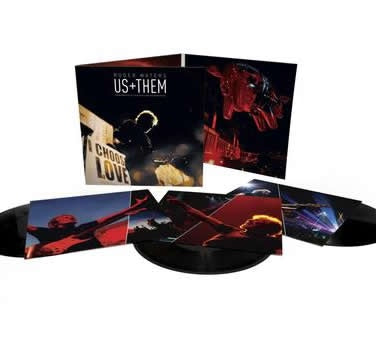 NEW - Roger Waters, Us & Them 3LP DUE: 2nd Oct 2020 (SMA)