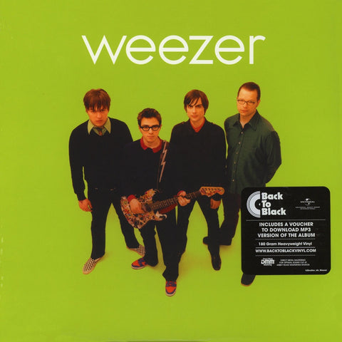 NEW - Weezer, Green Album LP (Black LP)