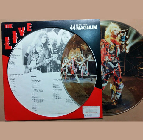 44 Magnum, The Live Picture Disc (Japan) (2nd Hand)