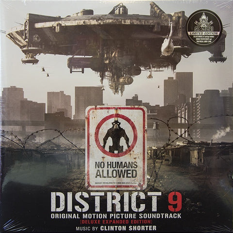 *NEW - Soundtrack, District 9 Expanded Ed Coloured 2LP