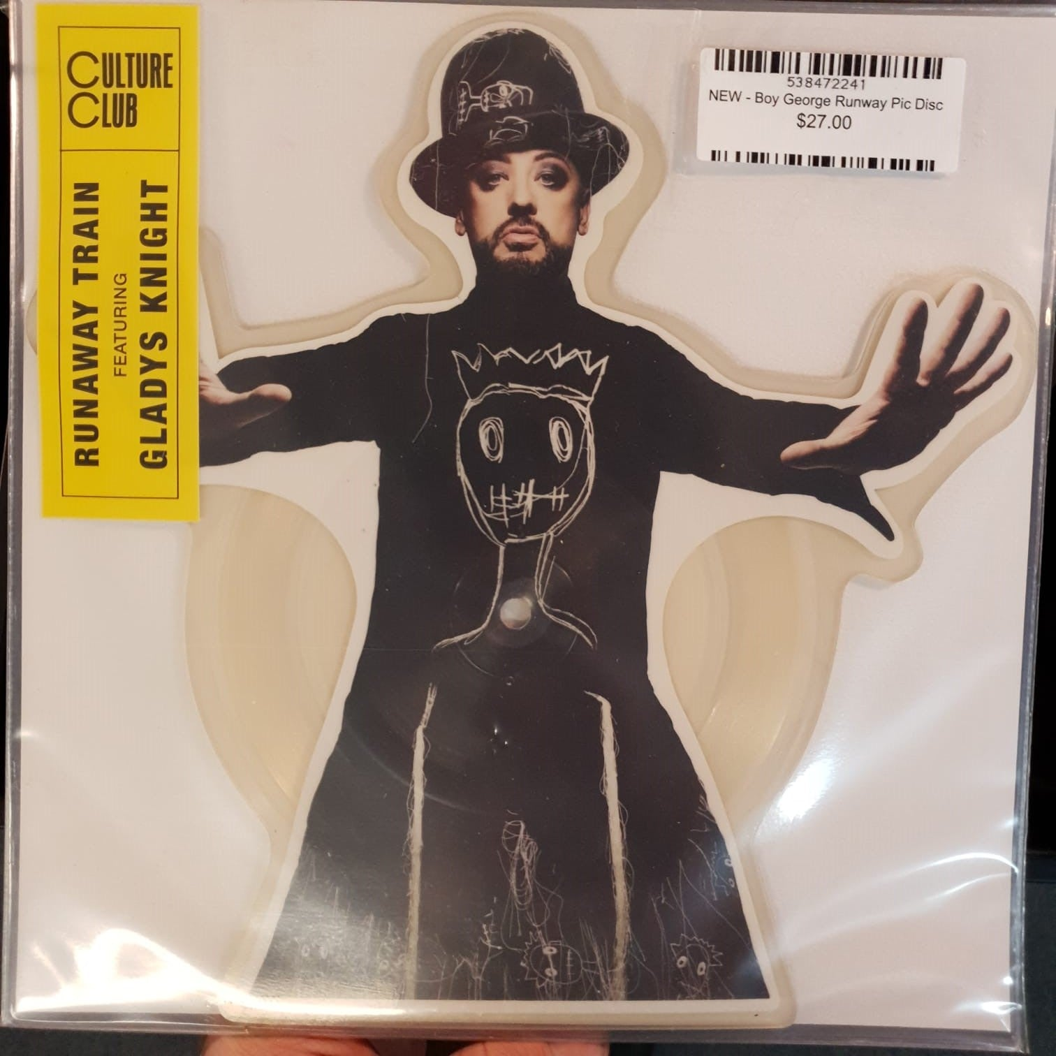 NEW - Boy George and Culture Club, Runway Train Picture Disc