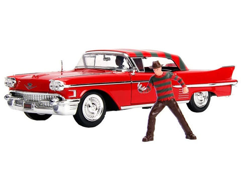 A Nightmare on Elm St - 1958 Cadillac 1:24 Scale Diecast Car