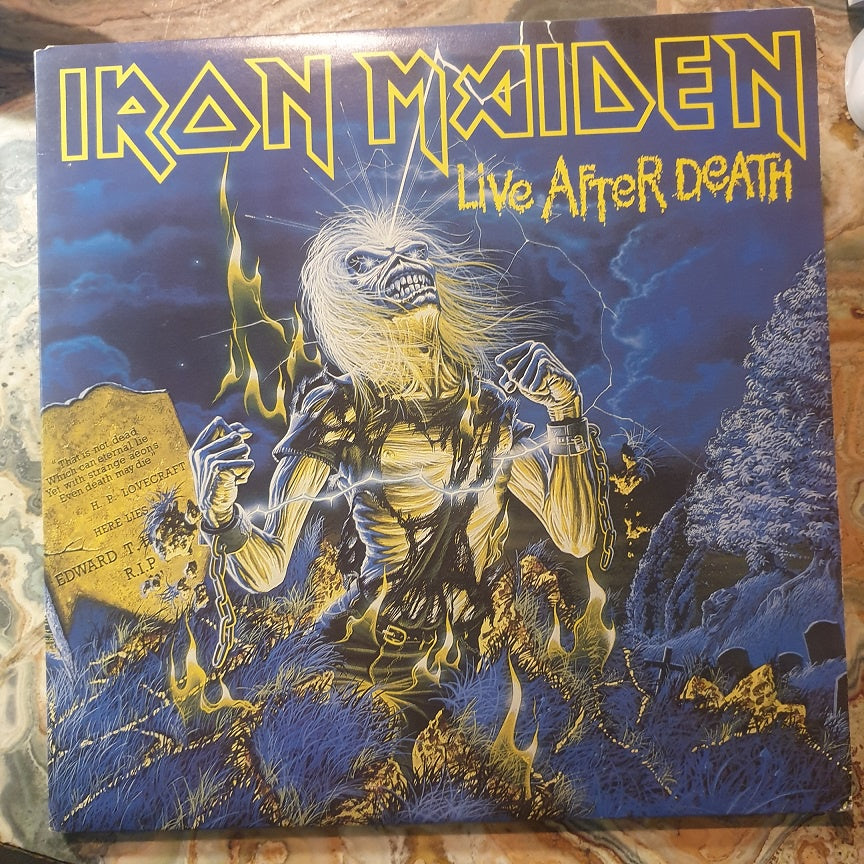 Iron Maiden, Life After Death 2LP (2nd Hand)