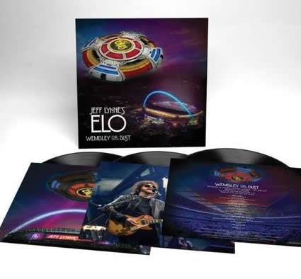 *NEW - Jeff Lynnes ELO: Wembly or Bust 3LP
