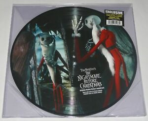 NEW - Soundtrack, The Nightmare Before Christmas 2LP Picture Disc