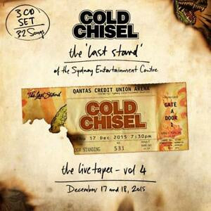NEW - Cold Chisel, The Last Stand: The Live Tapes Vol 4 (4 LP Set