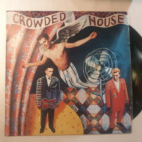 Crowded House, Crowded House LP (2nd Hand)