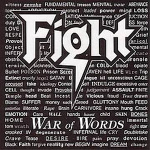 NEW - Fight, War of the Words Coloured LP