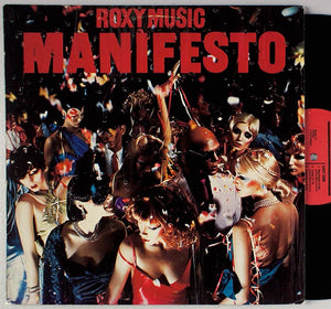 Roxy Music, Manifesto LP (2nd Hand)