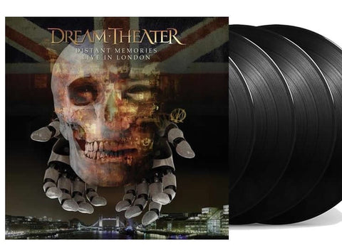 NEW - Dream Theater, Distant Memories - Live in London 4LP