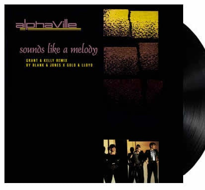 "NEW - Alphaville, Sounds Like a Melody 12"" Yellow RSD"