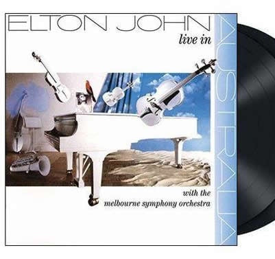 NEW - Elton John, Live In Australia MSO 2LP