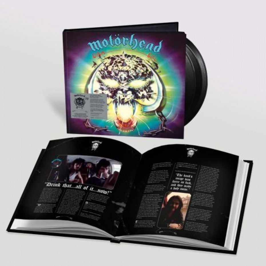 NEW - Motorhead, Overkill 25th Anniversary Reissue 3LP (MDC)