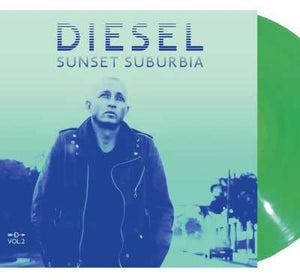 NEW - Diesel, Sunset Suburbia Vol. 2 - Clear Green 10""