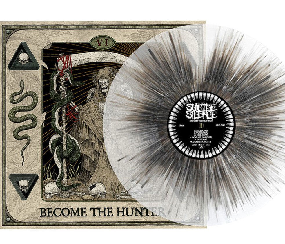 NEW - Suicide Silence, Become the Hunter - Coloured LP