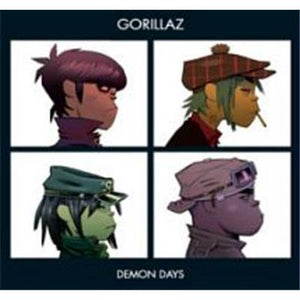 NEW - Gorillaz, Demon Days 2LP