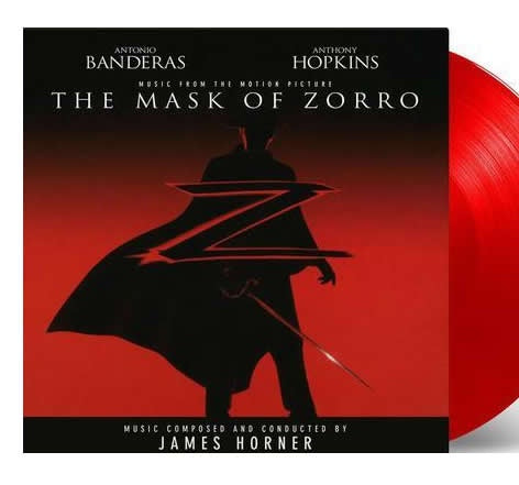 NEW - Soundtrack, Mask of Zorro Coloured 2LP