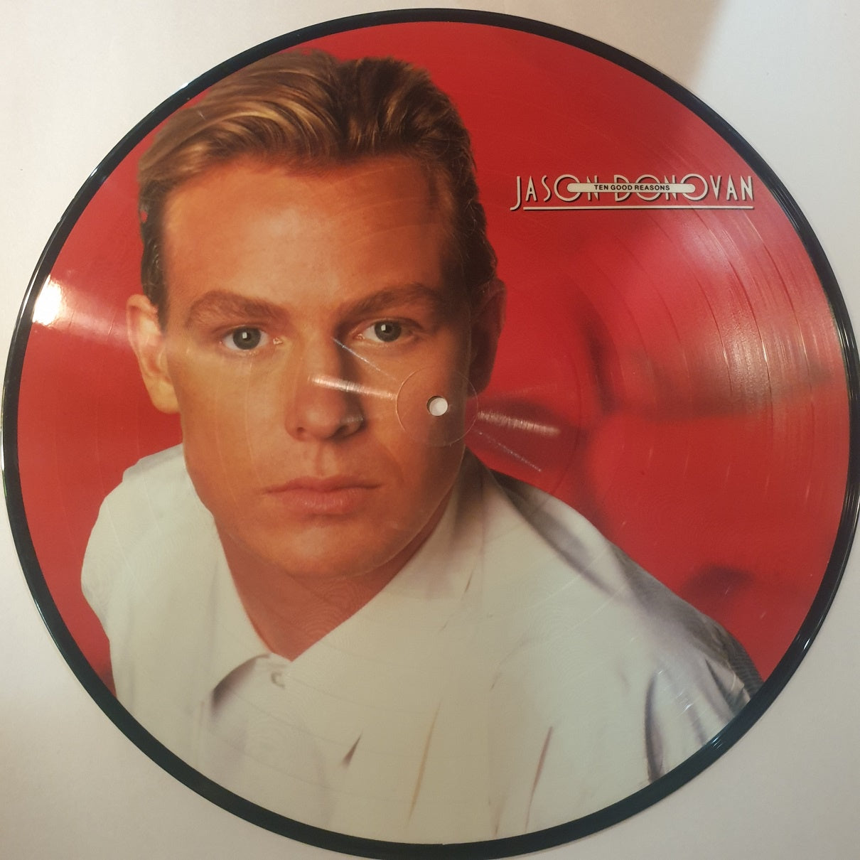 Jason Donovan, Ten Good Reasons Picture Disc RARE LP (2nd Hand)