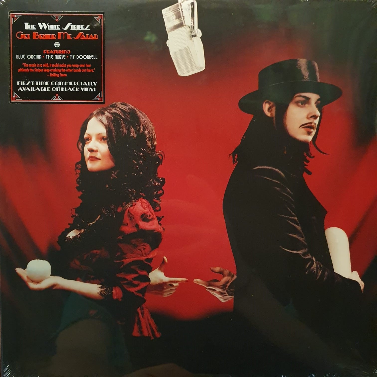 NEW - White Stripes (The), Get Behind Me Satan 2LP