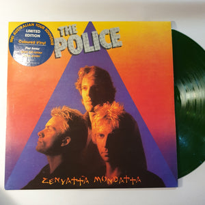 Police (The), Zenyatta Mondatta Green LP (2nd Hand)