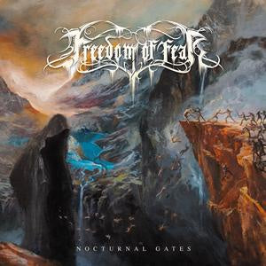 NEW - Freedom of Fear, Nocturnal Gates Black Smoke Vinyl
