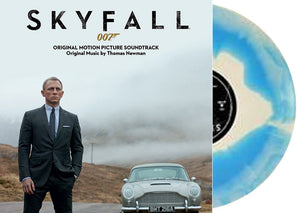 NEW - Soundtrack, Skyfall OST (Blue and White Swirl)
