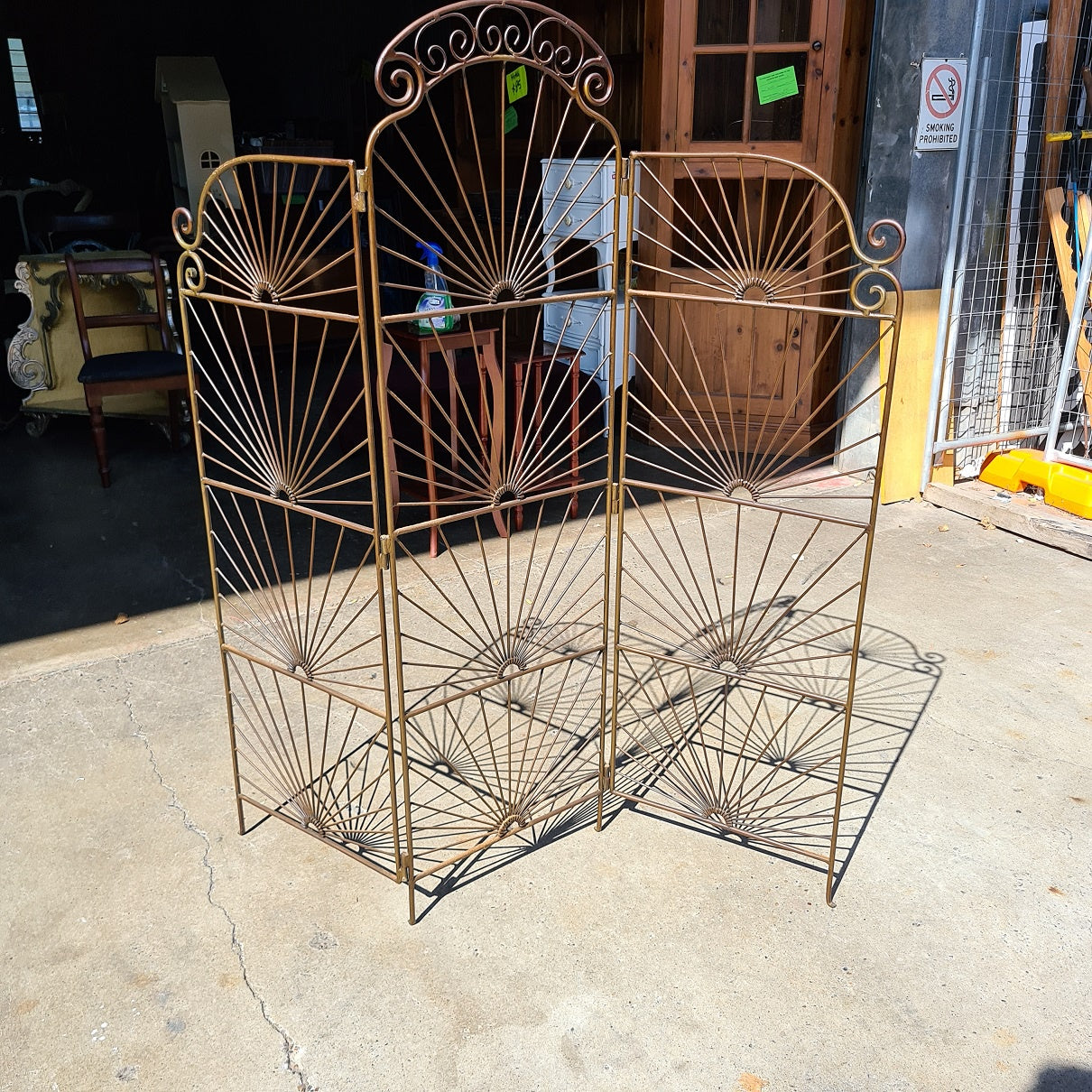 Wrought Iron Divider