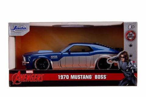 Captain America 1970 Ford Mustang 1:32 Diecast Car