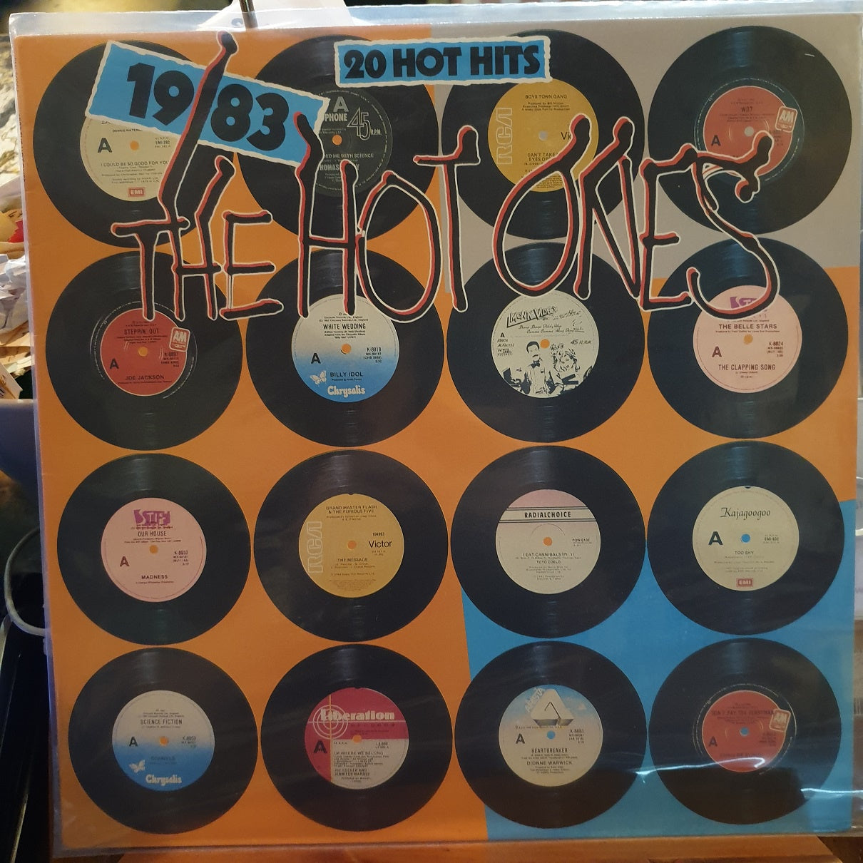 Various, 1983 The Hot Ones LP (2nd Hand)