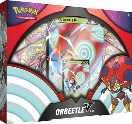 Pokemon TCG: Orbeetle V Box