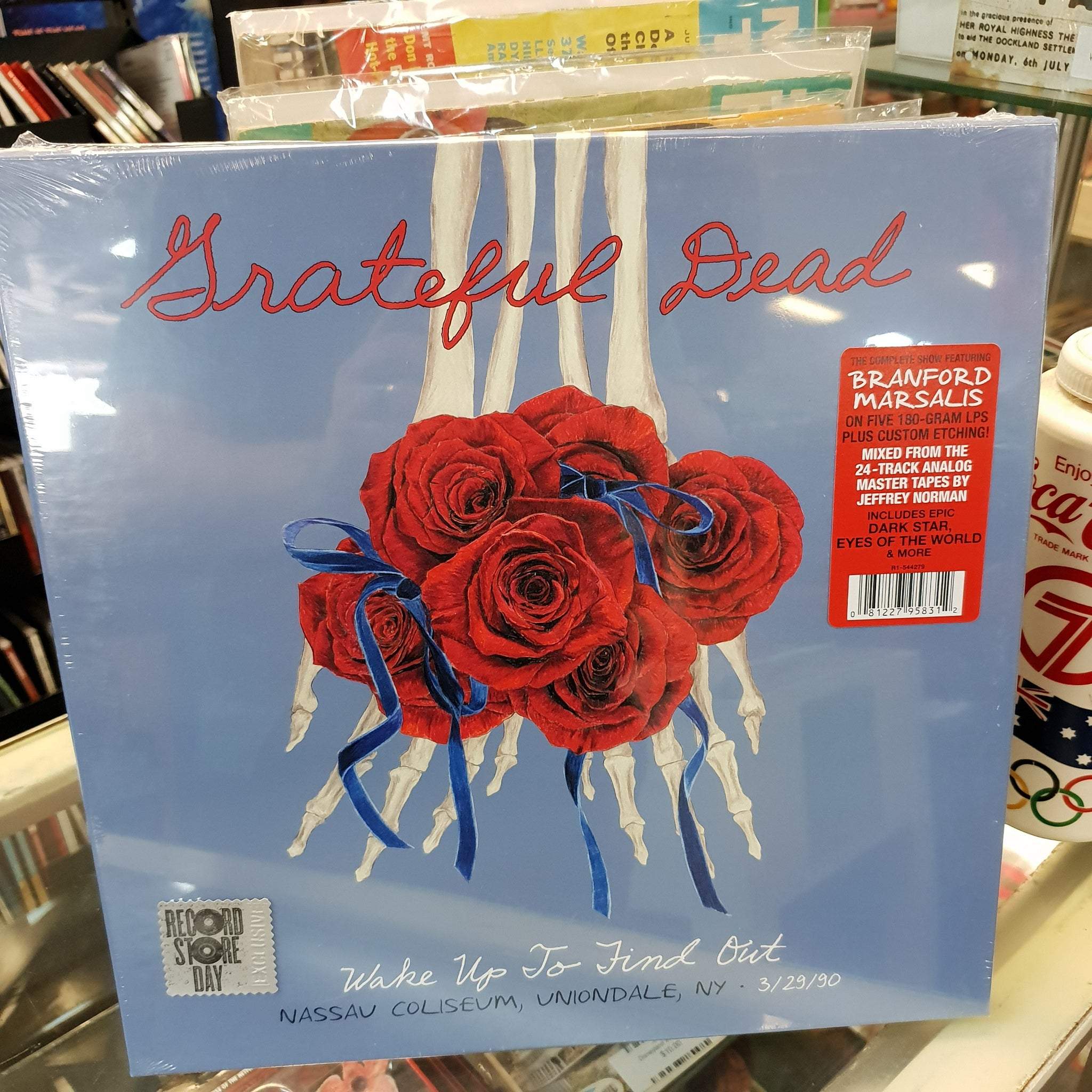 NEW - Grateful Dead, Wakeup to Find Out 5LP Set