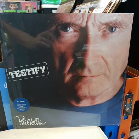 NEW - Phil Collins, Testify